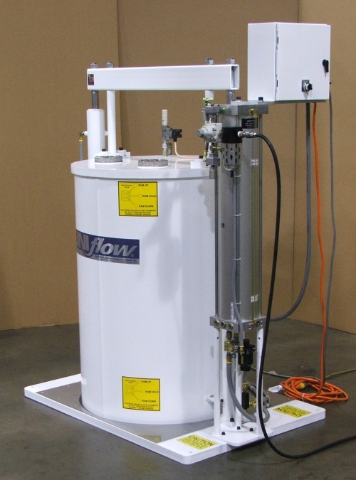 MODEL 2030 VACUUME DEGASSING CHAMBER FOR 55 GALLON DRUMS