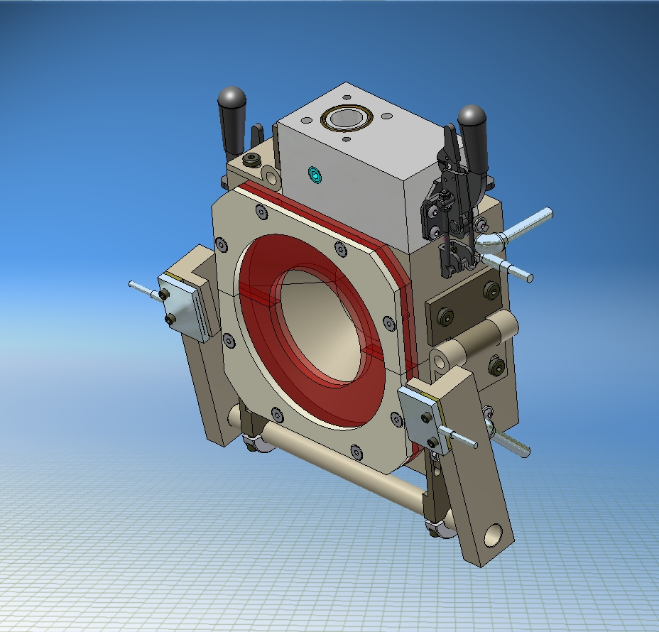 Containment Cone Die Holder for Cable Strander
