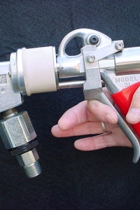 hot melt handgun for adhesives