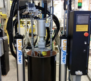 hot melt system for packaging company